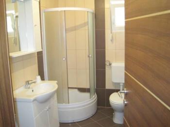 Koupelna a WC. - Prodej bytu 2+kk v osobním vlastnictví 43 m², Vir