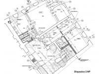 Dispozice 2. NP (Prodej domu 600 m², Tábor)
