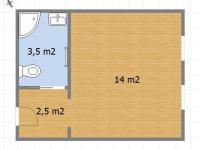 Pronájem bytu Garsoniéra v osobním vlastnictví 20 m², Sedlec-Prčice