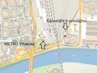 Pronájem kancelářských prostor 205 m², Praha 7 - Holešovice