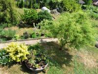 Zahrada z balkonu (Prodej domu v osobním vlastnictví 172 m², Týnec nad Sázavou)