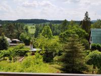 Výhled z balkonu (Prodej domu v osobním vlastnictví 172 m², Týnec nad Sázavou)