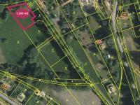 Prodej pozemku 1250 m², Soutice