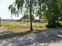 Místo pro budoucí vjezd (Prodej pozemku 3448 m², Hrusice)