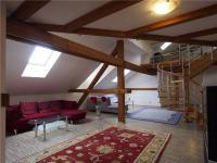 Obývací prostor - Prodej domu v osobním vlastnictví 386 m², Votice