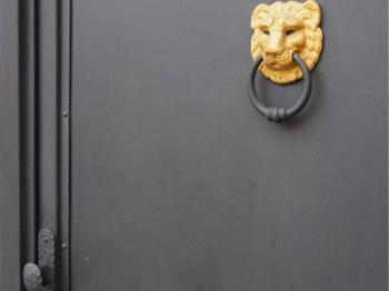 Vstupní kovová brána - Prodej domu v osobním vlastnictví 386 m², Votice