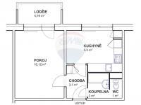 Prodej bytu 1+1 v osobním vlastnictví 33 m², Brno