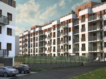 vizualizace objektu - Prodej bytu 1+kk v osobním vlastnictví 67 m², Plzeň