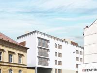 vizualizace objektu - Prodej bytu 2+kk v osobním vlastnictví 63 m², Plzeň
