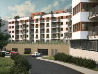 vizualizace dům od ulice Rybářská - Prodej bytu 4+kk v osobním vlastnictví 264 m², Plzeň