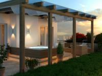 vizualizace terasy - Prodej bytu 4+kk v osobním vlastnictví 264 m², Plzeň