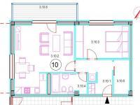 Prodej bytu 2+kk v osobním vlastnictví 66 m², Plzeň