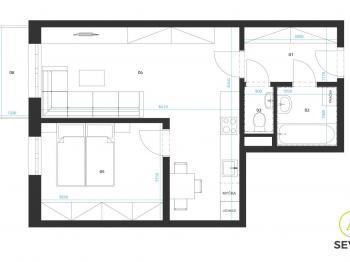 Prodej bytu 2+kk v osobním vlastnictví 49 m², Zbůch