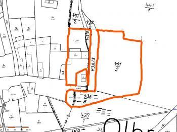 Prodej pozemku 9131 m², Olbramov