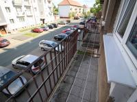 pohled z balkonu (Prodej bytu 2+1 v osobním vlastnictví 62 m², Nýřany)