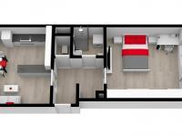 Prodej bytu 2+kk v osobním vlastnictví 45 m², Domažlice