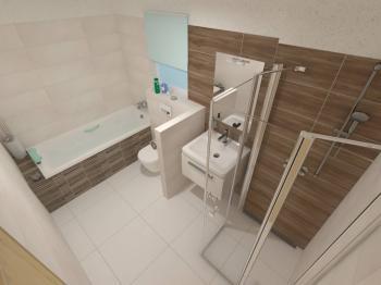 vizualizace - Prodej domu v osobním vlastnictví 121 m², Plzeň