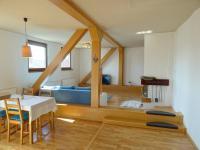 Obývací pokoj - Prodej bytu 4+kk v osobním vlastnictví 126 m², Plzeň