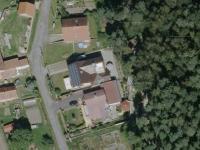 satelitní snímek - Prodej domu v osobním vlastnictví 308 m², Zbůch
