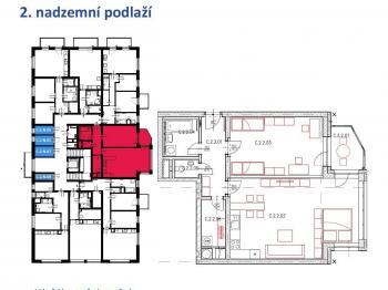 Prodej bytu 2+kk v osobním vlastnictví 97 m², Plzeň