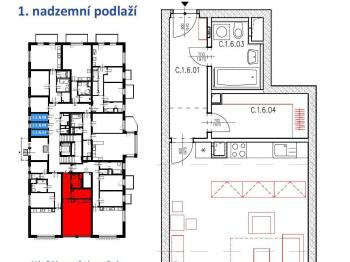Prodej bytu 1+kk v osobním vlastnictví 67 m², Plzeň