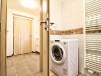 koupelna s WC / pohled předsíň - Pronájem bytu 1+kk v osobním vlastnictví 35 m², Plzeň