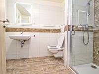 koupelna s WC - Pronájem bytu 1+kk v osobním vlastnictví 35 m², Plzeň