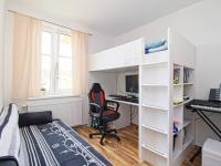 spodní ložnice - Prodej bytu 4+kk v osobním vlastnictví 122 m², Plzeň