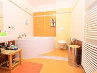 spodní koupelna s WC - Prodej bytu 4+kk v osobním vlastnictví 122 m², Plzeň