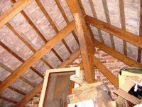 Půda, krov (Prodej domu v osobním vlastnictví 85 m², Zlukov)