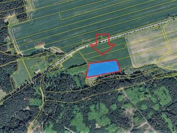 Prodej pozemku 8670 m², Cetoraz