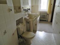 Koupelna a WC v přízemí. (Prodej domu v osobním vlastnictví 321 m², Lom)