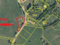 Prodej pozemku 2197 m², Přední Výtoň