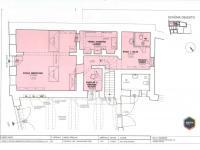 1.NP půdorys - Pronájem komerčního objektu 283 m², Prachatice