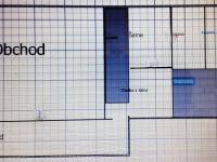 Prvotní orientační plánek přízemí. - Prodej domu v osobním vlastnictví 520 m², Milevsko