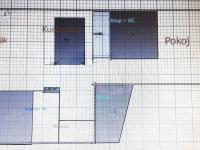 Orientační plánek bytu. - Prodej domu v osobním vlastnictví 520 m², Milevsko