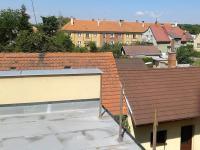 Pohled přes terasu. - Prodej domu v osobním vlastnictví 520 m², Milevsko