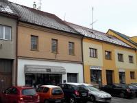 Pohled z Masarykovy třídy. - Prodej domu v osobním vlastnictví 520 m², Milevsko