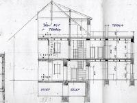 Architektonický návrh na vestavbu půdního bytu v podkroví. ZP 150 m2. - Prodej domu v osobním vlastnictví 520 m², Milevsko