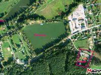 Letecká mapa - Prodej chaty / chalupy 1547 m², Roudná