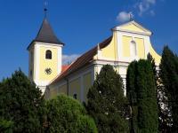 Kostel v Lidmani. (Prodej chaty / chalupy 92 m², Lidmaň)