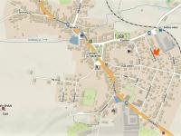 Situační plánek ulic. - Prodej domu v osobním vlastnictví 252 m², Sedlice