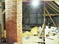 Podkroví - rozpracovaná bytová jednotka - Prodej chaty / chalupy 650 m², Blažejov