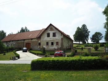 Pohled od silnice - Prodej chaty / chalupy 650 m², Blažejov