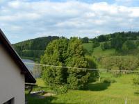 Výhled z terasy vedle půdy - Prodej penzionu 800 m², Zdíkov