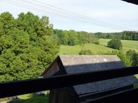 Výhled z lodžie v 2.NP - Prodej penzionu 800 m², Zdíkov