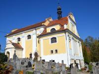 Kostel Nanebevzetí Panny Marie v Kotouni - Prodej domu v osobním vlastnictví 150 m², Oselce