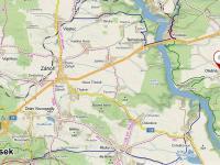 Turistická mapa okolí. - Prodej domu v osobním vlastnictví 158 m², Olešná