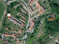 Letecký pohled na Olešnou. - Prodej domu v osobním vlastnictví 158 m², Olešná