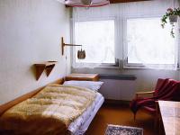 Jeden ze dvou pokojů v přízemí. - Prodej chaty / chalupy 158 m², Olešná